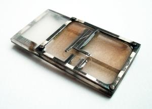 muirhead-Home-sterling silver, plexiglass, resin, metallic pigment, liver of sulfur, 33x57cm, 2012