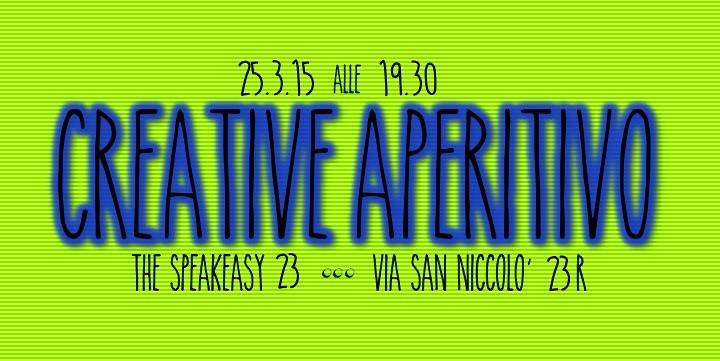 Creative Aperitivo Invite 25/3