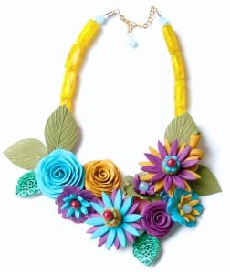 Flower necklace4.1