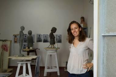 ritratto in studio J. Isabelle Cornière