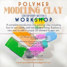 Polymer Clay Workshop