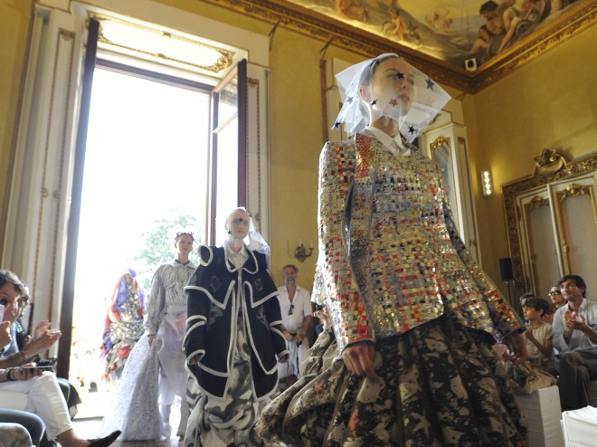 2012 Polimoda Graduation Show at Villa Favard