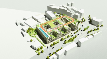 Plans for Viale Belfiori location