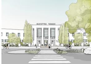 Plans for Manifattura Tabacchi location
