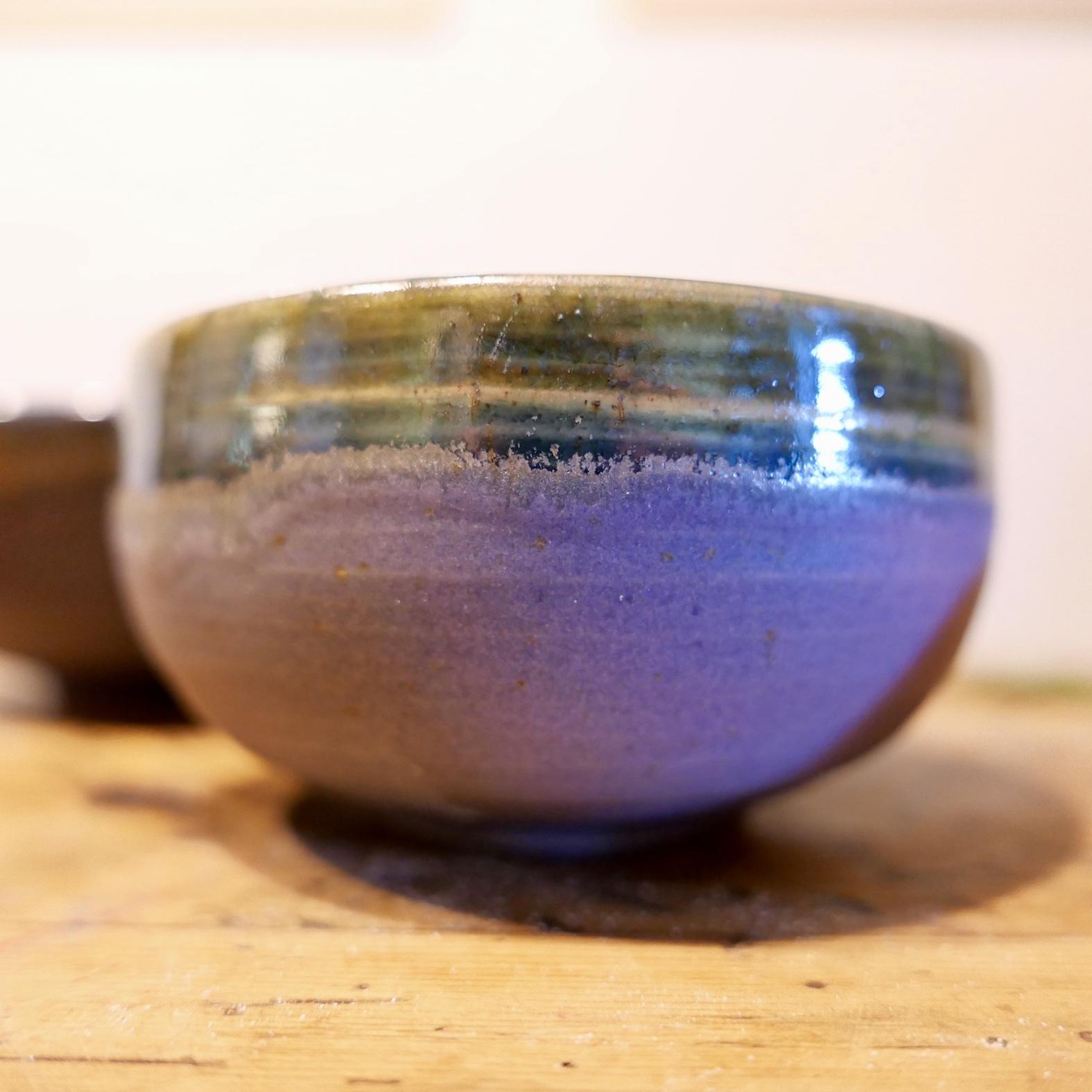 Bowl, pottery, stoneware
