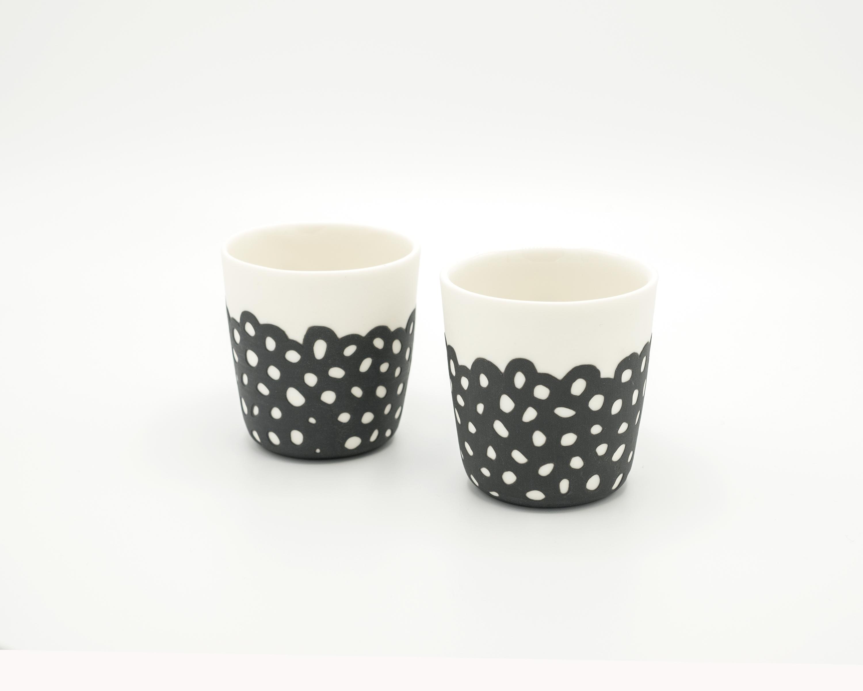 JHA Porcelain Espresso Cups