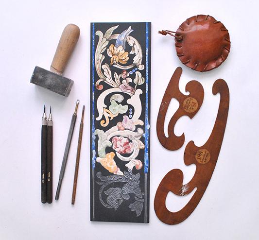 scagliola florence artisan stone inlay