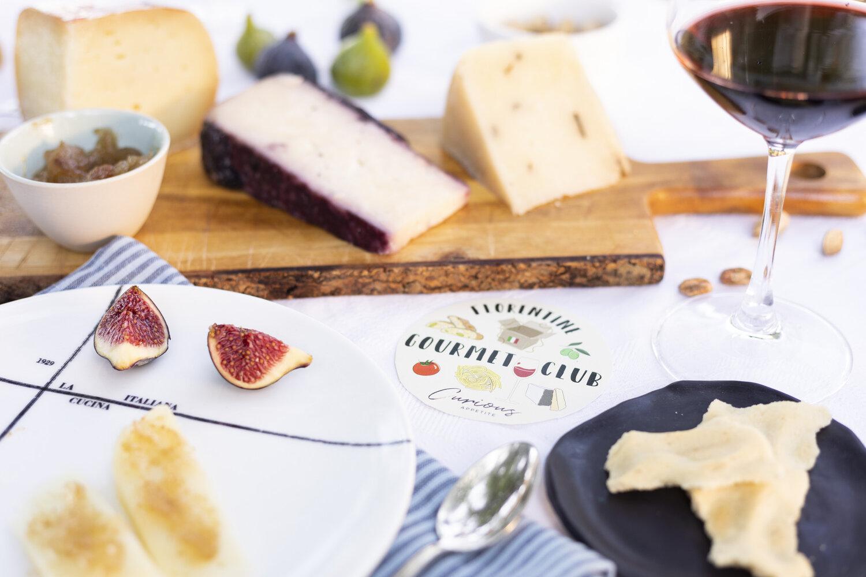 Italian food aperitivo cheese