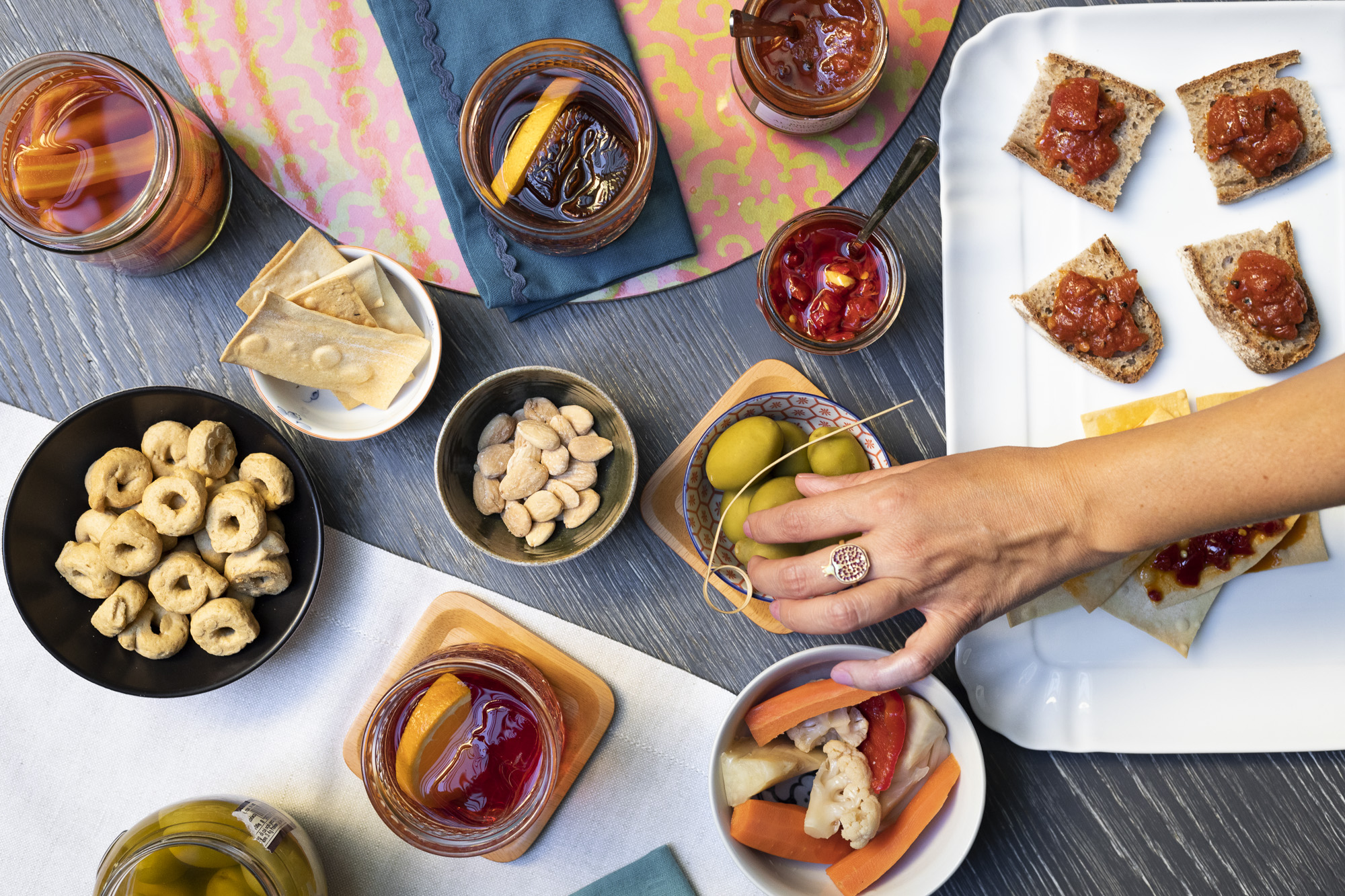 Italian Food Aperitivo